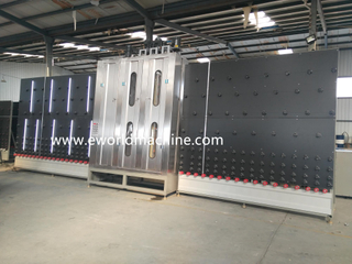 2500 Big Size Automatic Glass Washing And Drying Machine