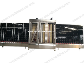 High Speed Full Automatic LOW E Vertical Glass Washing Drying Machine