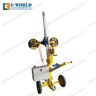 Mobile Vacuum Suction Cup Handling Glass Lifter