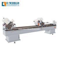 Double Head Cutting PVC Profile Cutting Window Machine