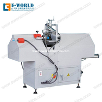 UPVC Vinyl PVC Profile Window Mullion Cutting Saw Machine