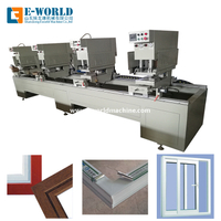 Four Head UPVC PVC Window Door Manufacture Seamless Welding Machine