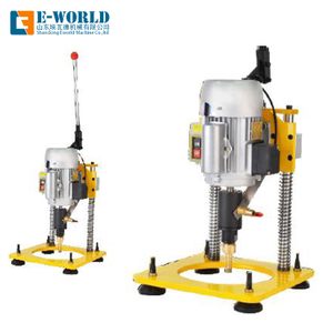 hand use portable small size glass drilling machine