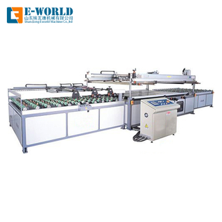 PET Film Flat Flatbed Screen Printing Machine