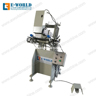Water Groove Milling UPVC Profile Window Machine