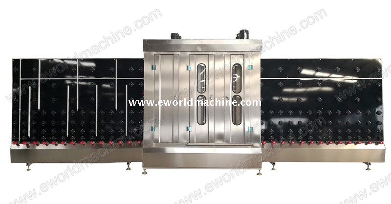 Full Automatic Double Glazing LOW E Vertical Glass Washing Machine