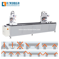 Portable Vinyl Profile Upvc Window Door Making Machine