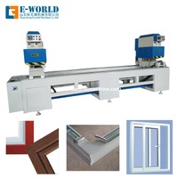 Double Head Plastic UPVC Welding Window Making Machine