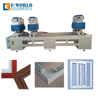 Three Head UPVC Window Door Seamless Welding Making Machine