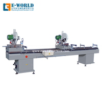 Upvc Window Door Double Head Miter Saw Assembly Machine