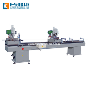 Double Head Cutting Upvc Window Processing Machine