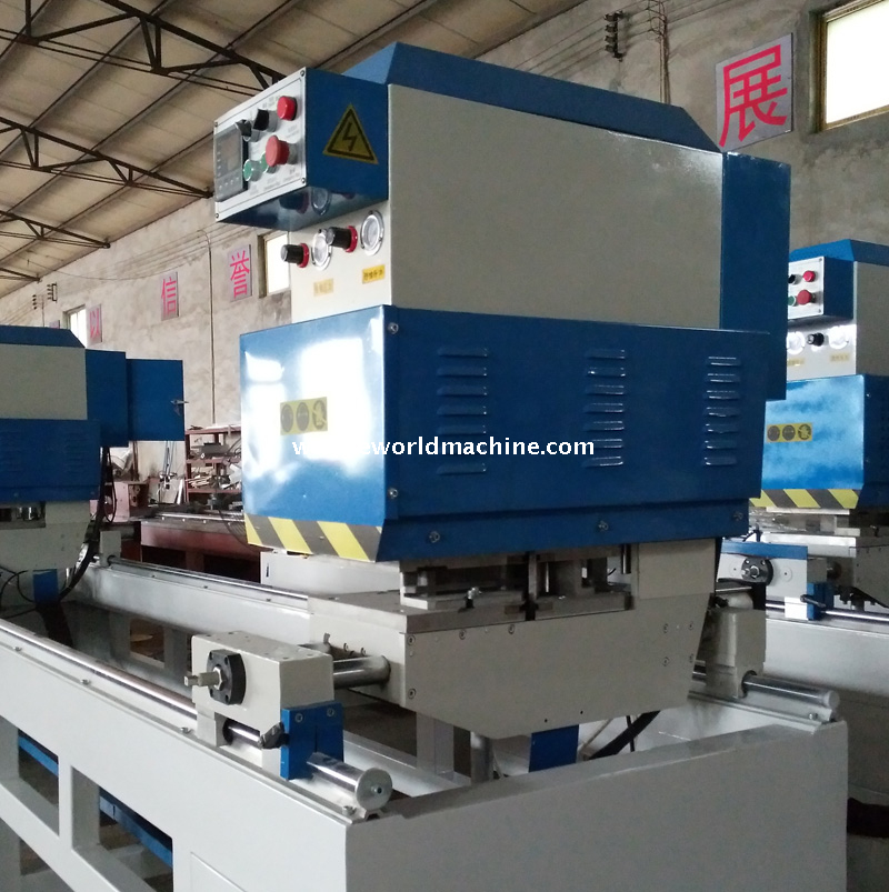 Four Head UPVC Window Door Frame Corner Crimping Welding Machine