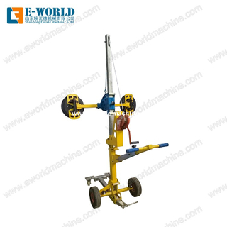 Vacuum Lifter for Glass Curtain Wall Installation and transport