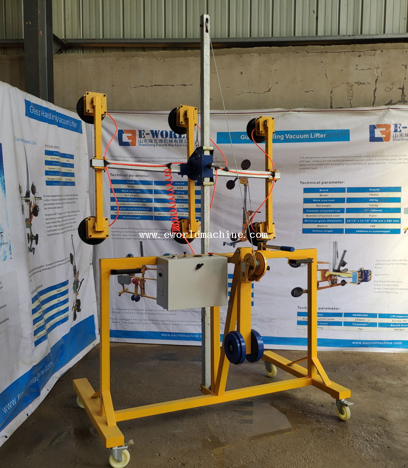 Flat Glass Metal Plate Handling & Lifting Equipment