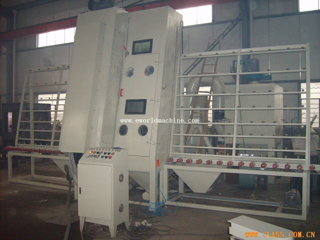Flat Big Heavy Size Glass Drilling Machine with Vertical Structure