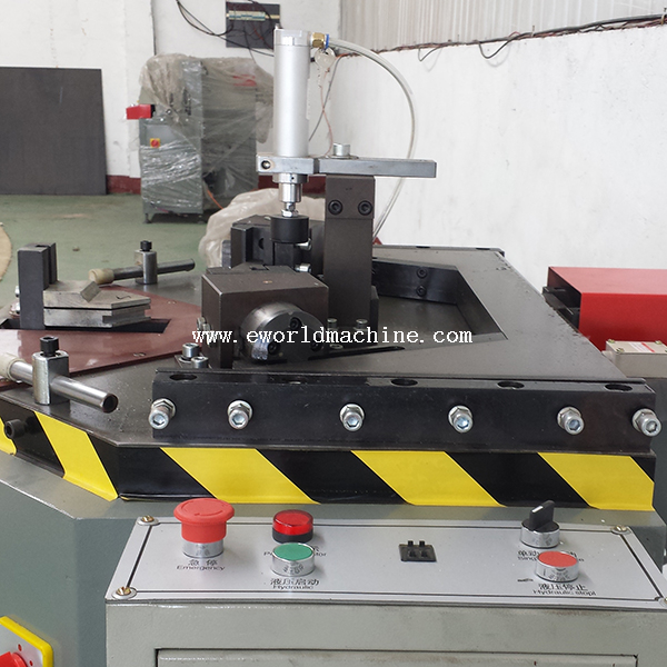 Single Head Aluminum Window Corner Crimping Machine