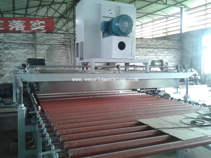 High Speed Big Size Glass Washing And Drying Machine