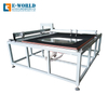 Double Bridge Manual Glass Cutting Machine with 20 Cutters