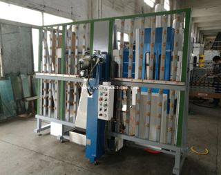 Small Automatic Vertical Glass Drilling Machine