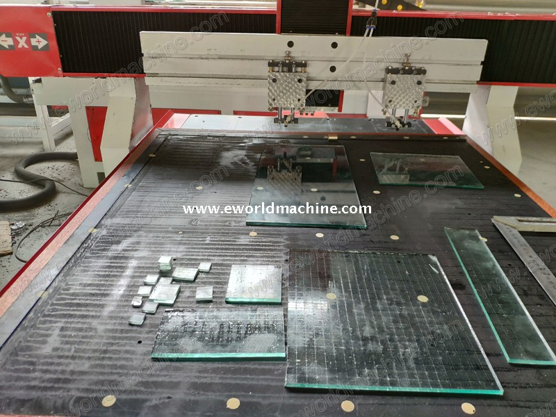 Multi Head Automatic Straigt Line Glass Cutting Machine