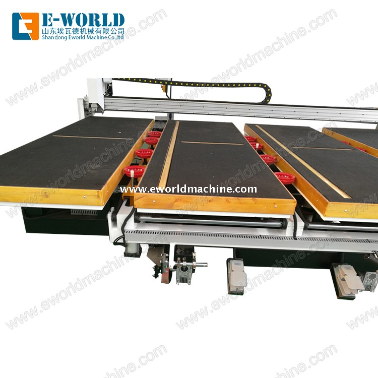 Full Automatic Arc Glass Cutting Machine