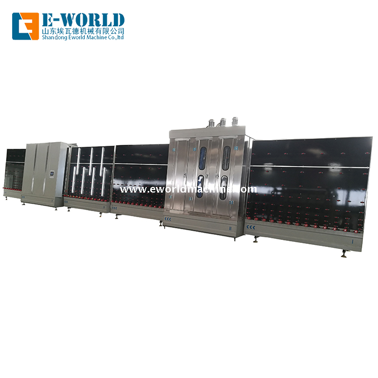 Automatic Vertical Flat Pressing Insulating Glass Machine